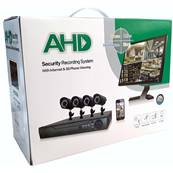 Kit DVR HD 4 Telecamere 4 Canali with Internet & 5G Phone Wieving - 81255-6145AHD-4